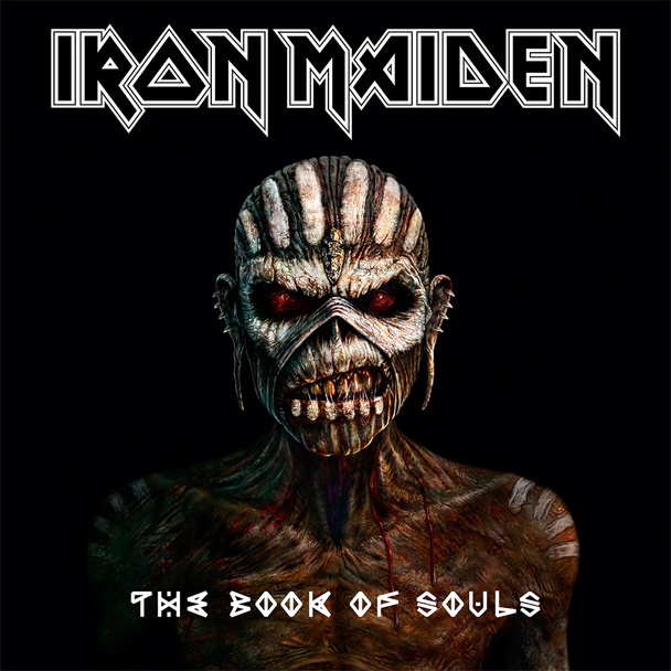 Capa do novo disco, 'The Book of Souls