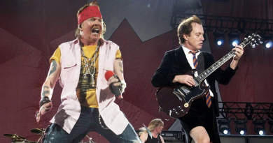 AC/DC: site crava Axl Rose como vocalista do AC/DC nos próximos shows. Você aprova?