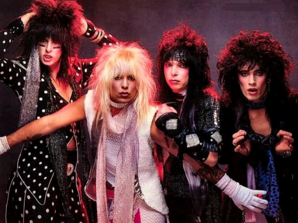 As bandas de Hard Rock estão cada vez mais Heavy Metal?