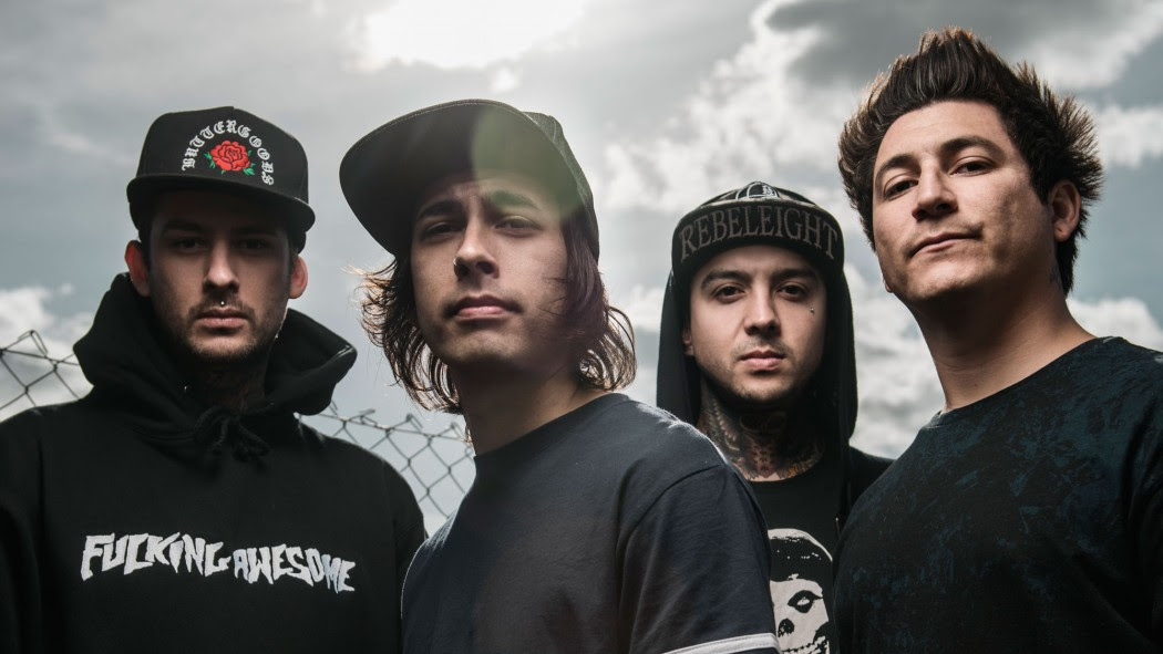 Fenômeno Pierce The Veil confirma única apresentação no Brasil