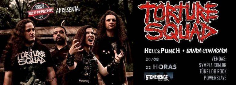 Torture Squad: show confirmado em Belo Horizonte. Saiba mais!