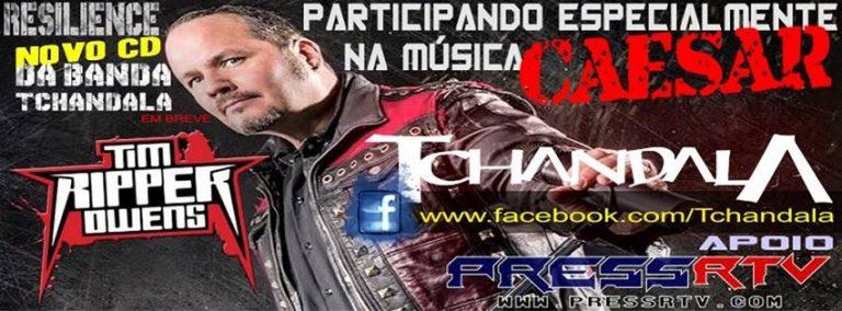 Tchandala: Tim Ripper Owens fará participação especial em novo CD