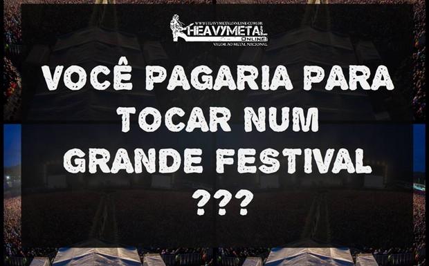 Você pagaria para tocar em um grande festival??? | HMOL #72