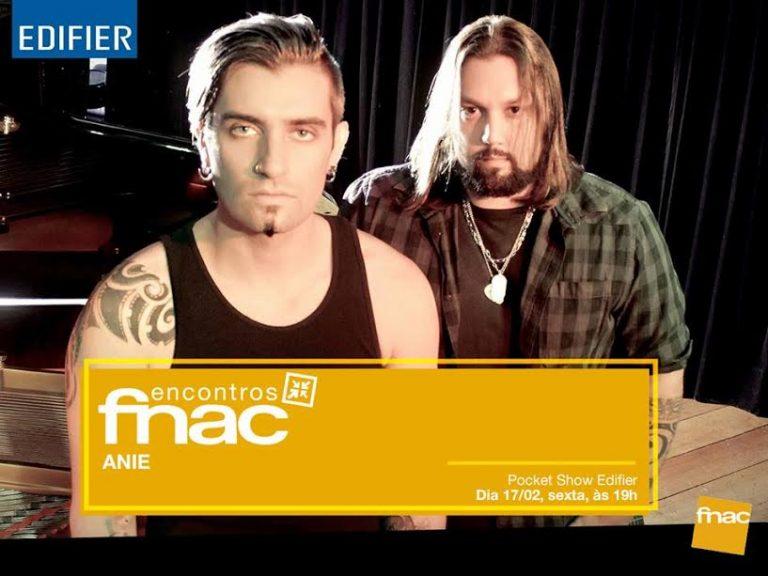 ANIE: confirmado show gratuito na FNAC Paulista em São Paulo