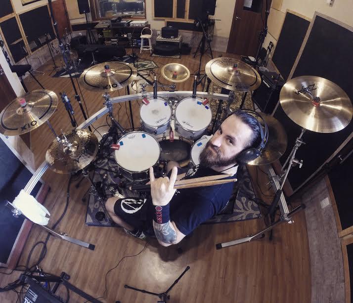 Warcursed: finalizadas sessões de bateria do seu terceiro álbum