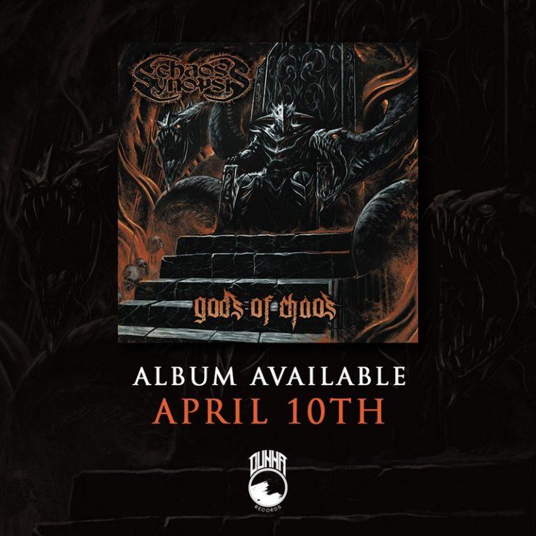 Chaos Synopsis: anunciada data de lançamento de novo álbum