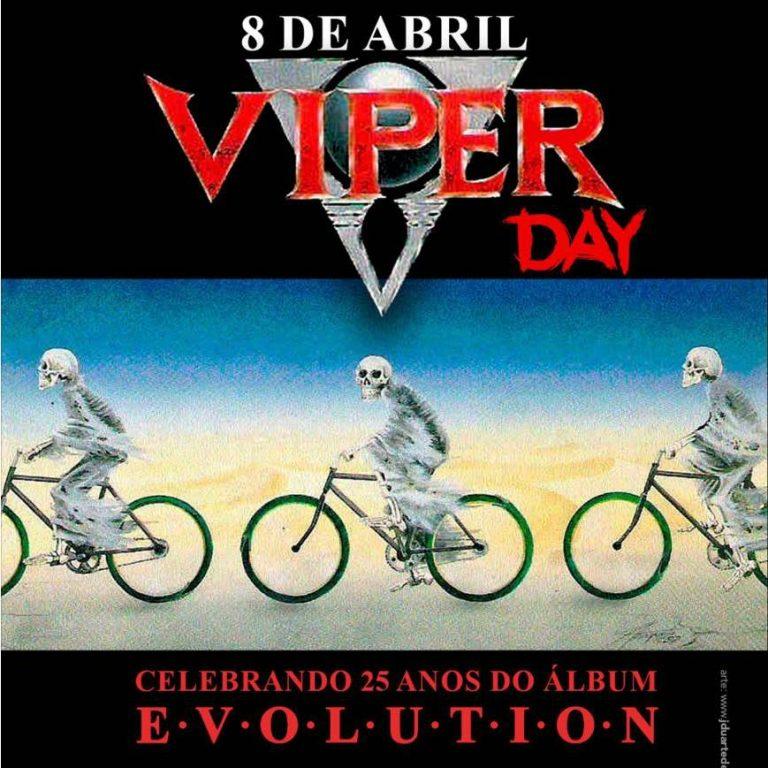 """Viper: banda celebra 25 anos do álbum """"Evolution"""" com show especial no Manifesto Bar"""