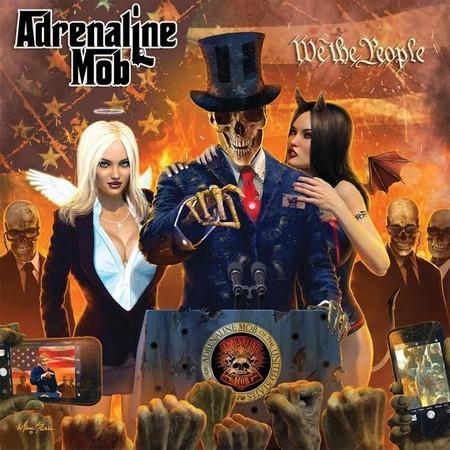 "Adrenaline Mob divulga videoclipe de nova música ""King Of The Ring"""