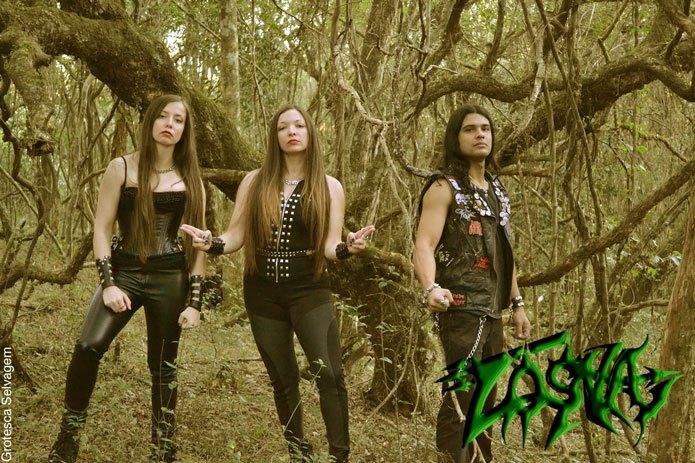 Losna: participando da compilação 'Mosh Like a Blasfemme'