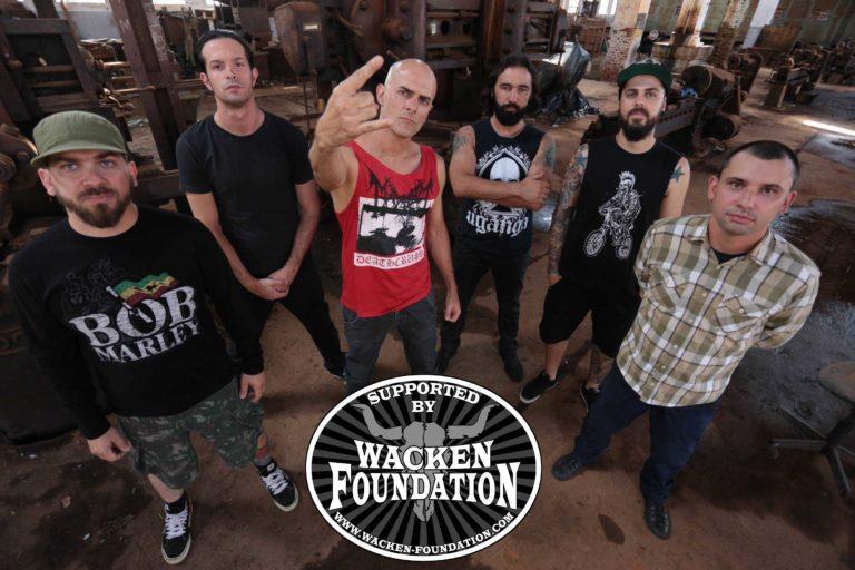 """Com patrocínio do Wacken Foundation, Uganga inicia gravações de novo álbum, """"Servus"""""""