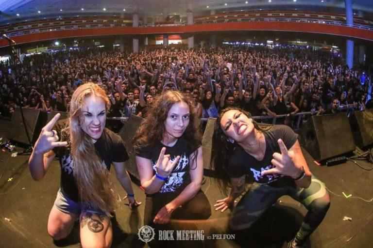 """Nervosa toca no festival """"Metal Thrashing Mad"""" em Curitiba no sábado"""