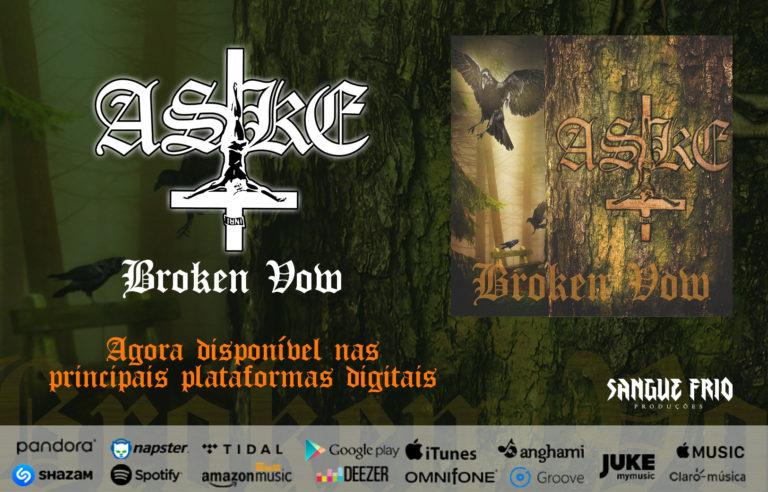 """Aske: Ouça agora o novo EP """"Broken Vow"""""""