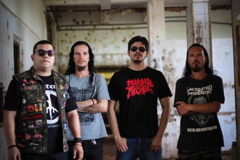 """Terrorsphere: confira a nova música da revelação do Death Metal londrinense, """"Shadows Of Atrocity"""""""