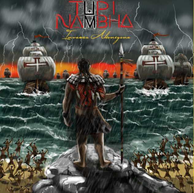 """Tupi Nambha: banda divulga lyric-video da música """"Invasão Alienígena"""" criado por fã"""