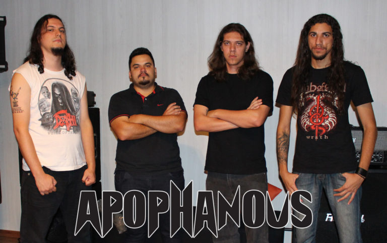 Apophanous: Confira entrevista ao site Chama do Metal