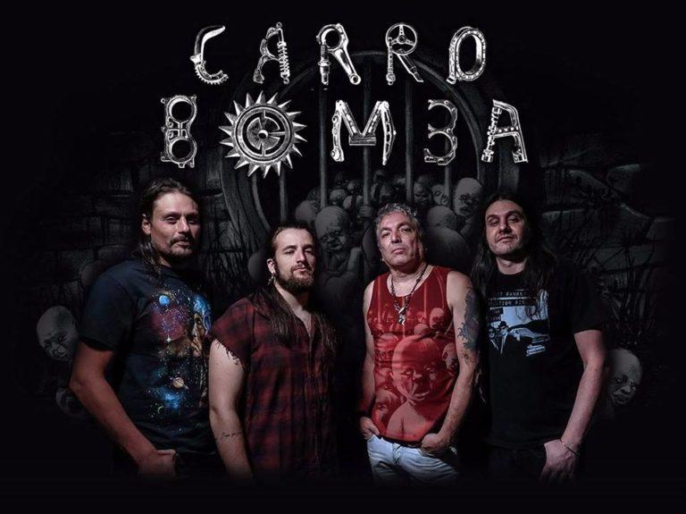 Carro Bomba: Show de lançamento de DVD em São Paulo em Maio!
