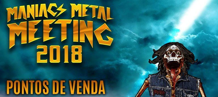 Maniacs Metal Meeting: divulgados pontos de venda para ingressos físicos. Confira!