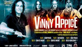 """Vinny Appice: confira serviço completo de todos os shows da """"Mob Rules Brasil Tour"""""""