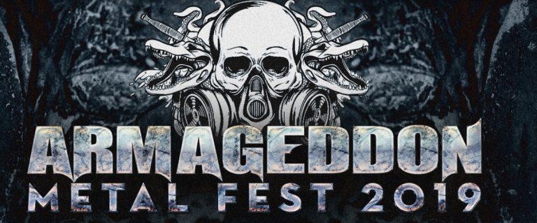 Armageddon Metal Fest anuncia cast de peso para edição 2019