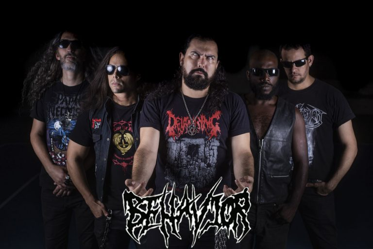 "BEHAVIOR: Banda divulga capa de novo single ""Necrophagic Necrophilia"""