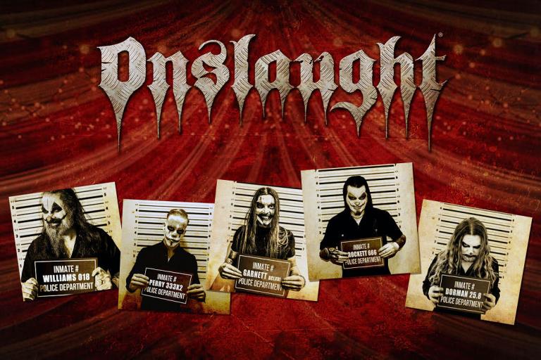 ONSLAUGHT, lendas do Thrash Metal lançam novo videoclipe.